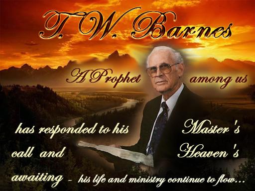 T  W  Barnes Memorial
